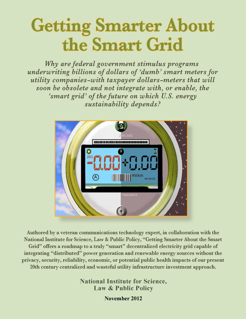 smarter about smart grid November_Cover_lo_res_green